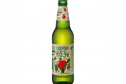 Sidrova Goat Apple Semisweet Sider, 450 ml