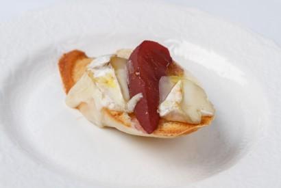 Savory pear - brie